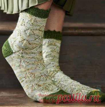 Вязаные носки «Alder»   ВЯЗАНЫЕ НОСКИ