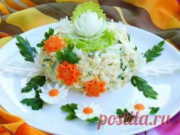 """Обалденный салат """"Моника"""" – затмит любое """"Оливье"""""""