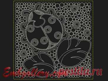 """Квадраты для стежки""_43 | Machine embroidery design"