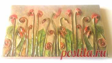 плитка флора, растения на плитке, цветы на плитке, плитка ручной работы, плитка дизайнерская, плитка авторская, плитка декоративная