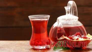 Гранатовый чай от болезней