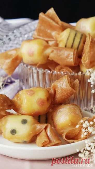 35 минут · Порций: 4 · キャンディー型のおつまみチーズ♪パーティーにどうぞ!