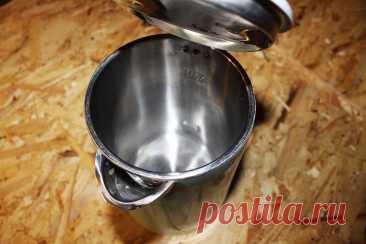 Как почистить чайник без лимонной кислоты. Простой рабочий способ   Рукастый Самоделкин   Пульс Mail.ru Простая и быстрая чистка чайника, без лимонной кислоты.