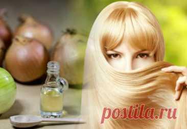 Польза лука для волос - луковые маски от выпадения и быстрого роста - рецепты масок из лука