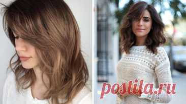 Стрижка каскад на средние волосы: кому идет, модные варианты – ВСЕ ПРОСТО