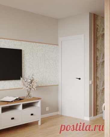 Гостиная- спальня Дизайн: Евгения Петренко