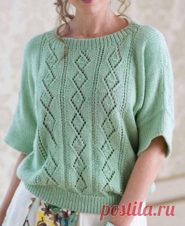 Шикарные свитера, пуловеры и блузы спицами на осень 2021! Вы точно захотите их связать! СХЕМЫ и описание | Копилка узоров (Вязание спицами) | Яндекс Дзен