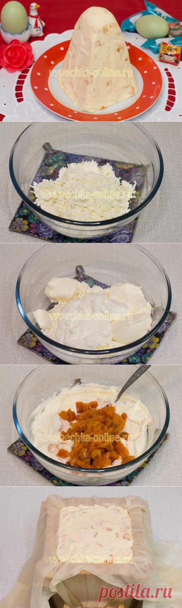 ✔️Пасха с маскарпоне и творогом – рецепт с фото и видео