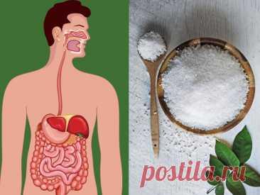 Английская соль для очищения организма