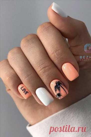 Тренды маникюра лето 2021 на короткие ногти: модные и красивые идеи дизайна | volosomanjaki.com