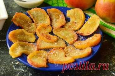 Жареные яблоки по-французски — быстрый рецепт необычайной вкуснятины