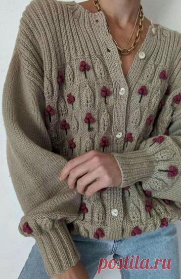 Оригинальные сочетания резинки с другими узорами. Вязание спицами | Марусино рукоделие | Яндекс Дзен