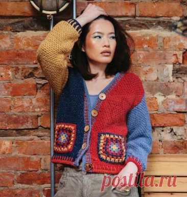 Вяжем крючком. Новые модели из европейских журналов.   Все вяжут.соm/Everyone knits.com   Яндекс Дзен