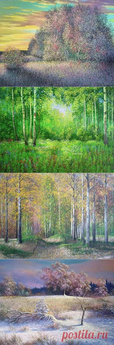 Красивые пейзажи художника под ником Андрей.