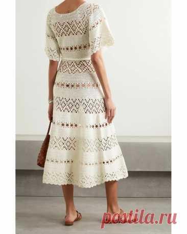 Лето в белом! летнее платье крючком Подбор схем  https://vk.com/photo-120996899_457260060 https://vk.com/photo-120996899_456242396