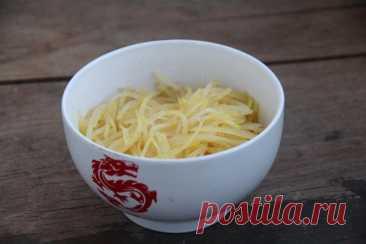 Тхудоу сы - китайский салат из сырого картофеля : )) - ktaara — ЖЖ
