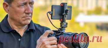 Его можно подключать к профессиональным камерам для захвата изображения.