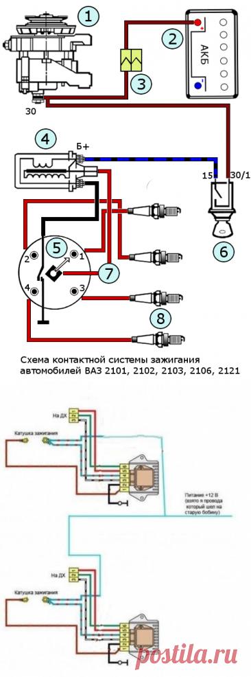 Двухконтурная система зажигания на ваз 2106 – АвтоТоп