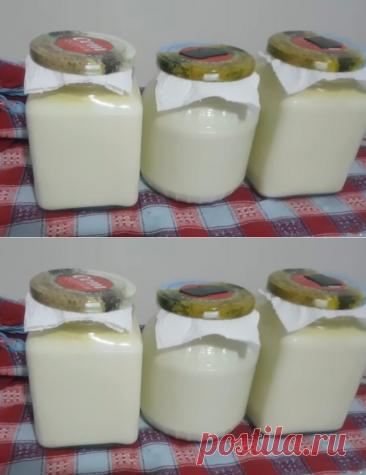 Йогурт в домашних условиях из молока