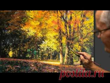 "🍁🍂 Painting ""Autumn leaves"" #Shorts #Short #art #draw #drawing #shortsvideo #UVN Art"