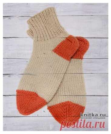Мастер-класс! Вяжем Бабушкины носки на 5 спицах, Вязание для женщин