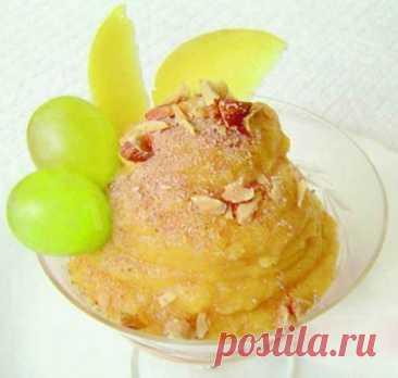 Десерт айвово-тыквенный с медом