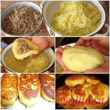 Картофельные зразы Очень уж аппетитно выглядит  Ингредиенты: 10 картофелин; 2 ст. л. муки или панировочных сухарей; 1 репчатый лук; 2 куриных яйца; 4 ст. л. сливочного масла. Для фарша: 200 гр. свежих грибов; 1 репчатый лук; молотый черный перец и соль — на вкус. Рецепт приготовления: Почистите и сварите до готовности в подсоленной воде картофель. После слейте воду. Картофель, пока он горячий, разомните в пюре без комочков. В немного охлажденное картофельное пюре разбейте ...