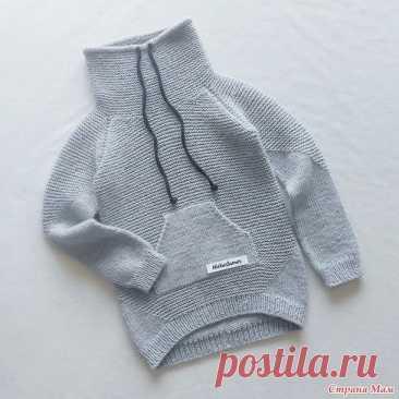 Модный детский пуловер спицами. Описание (Вязание спицами) – Журнал Вдохновение Рукодельницы