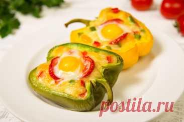 Перец, фаршированный овощами и яйцом рецепт с фото пошагово Перец, фаршированный овощами и яйцом - пошаговый кулинарный рецепт приготовления с фото, шаг за шагом.