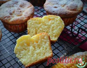Творожно-кукурузные кексы – кулинарный рецепт