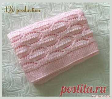 Красивый узор для вязания.