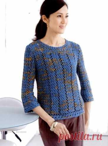 Модели крючком со схемами для женщин | Вязание | Яндекс Дзен