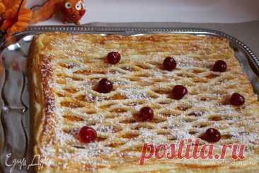 Слоеный пирог с тыквой, пошаговый рецепт, фото, ингредиенты - Elena F.
