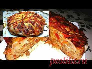 Пирог капустный без МУКИ и очень Вкусный!