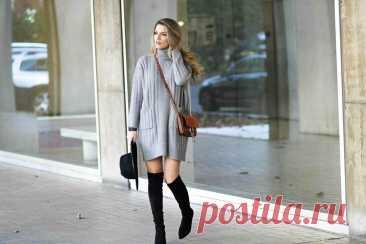 С чем носить платье-свитер, чтобы выглядеть стильно и женственно Чтобы выглядеть всегда на все сто, нужно следить за модой и иметь в своем гардеробе вещи, которые легко сочетаются друг с другом. К таким вещам … Читай дальше на сайте. Жми подробнее ➡