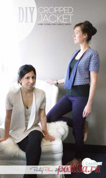 Готовая выкройка элегантного жакета Модная одежда и дизайн интерьера своими руками