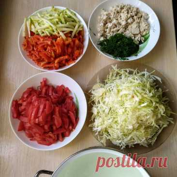 Худею за неделю на приготовленном супе на 5-7 кг , первый из семи дней. Фото моего супа и остальное дневное меню | Взгляд из-под очков | Яндекс Дзен