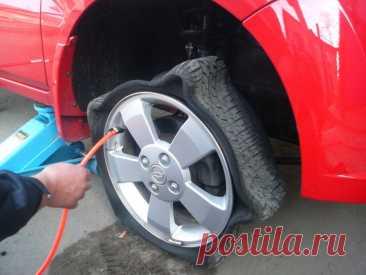 Зачем накачивают шины азотом и нужно ли это делать