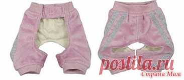 Patterns of panties for dogs - 6 sizes. - Clothes for our favourite pets (dogs, cats) - the Country of Mothers