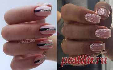 Серебристый маникюр 2021: фото, новинки дизайна ногтей