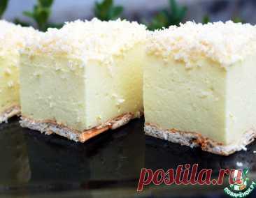 """Торт без выпечки """"Снежный пух"""" – кулинарный рецепт"""
