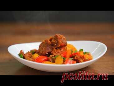 Бограч - очень вкусное мясное блюдо на обед или ужин! Говядина с картошкой