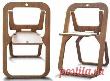 Складной походный стул своими руками. - Мужской журнал JK Men's Подойдет фанера толщиной 20 мм. Стул состоит из трех деталей. По размерам на ней нарисовать все детали, соблюсти все пропорции.