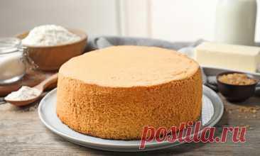 Как приготовить бисквит: рецепт от Шефмаркет