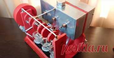 Как изготовить двигатель Стирлинга для генерации электроэнергии - легко! Очень давно умные головы изобрели паровые машины, котлы которых частенько приносили неприятности окружающим, они взрывались. К тому же эти двигатели имеют сложную конструкцию и требуют особого обслуживания. Поэтому Роберт Стирлинг изобрел новый вид двигателя и запатентовал его в 1816