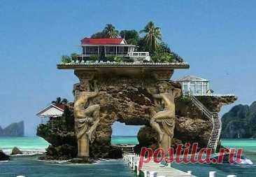 ¡Es aquí la casita cerca del mar!!! ¡Abobarse, la belleza que!!!