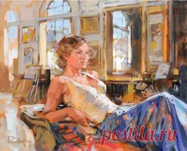 Пол Хедли: женская красота – мощный источник вдохновения ( подборка лучших картин)