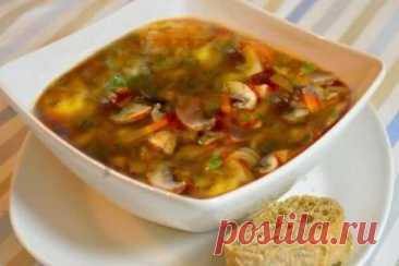 Постная грибная солянка с лимончиком, рецепт с фото | Вкусные кулинарные рецепты