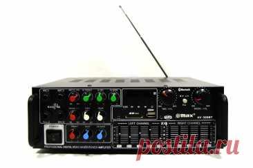 Підсилювач потужності звуку UKC / MAX AV-326BT Bluetooth | f-china.com.ua
