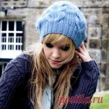 Модные шапки 2021-2022: фото модных вязаных женских шапок для зимы 2021-2022 года